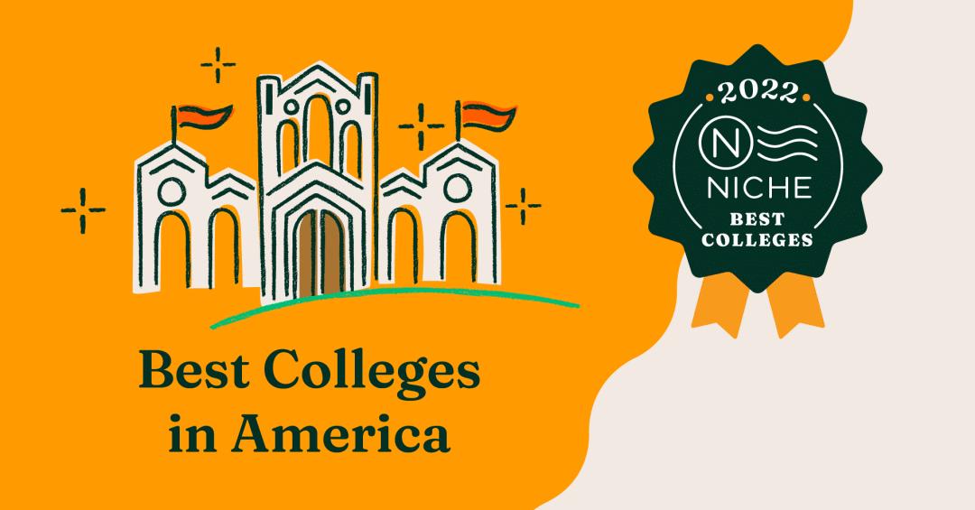 "Niche发布2022年美国最佳大学排名!榜单中的""大众点评""来了!"